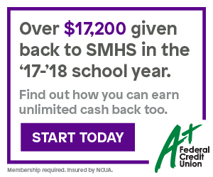 Over $17,200 given back to SMHS in the '17-'18 school year. Find out how you can earn unlimited cash back too.  Start today.